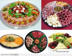 Awesome Food: Decorate your table Party Platters, Food Platters, Snack Recipes, Cooking Recipes, Snacks, Czech Recipes, Ethnic Recipes, Catering Food Displays, Buffet Displays