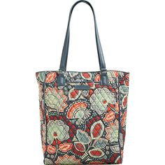 3bc330ced433 See more. Vera Bradley Crosstown Tote ( 78) ❤ liked on Polyvore featuring  bags