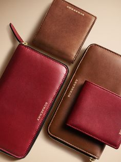 Smooth leather wallets from the Burberry men's accessories collection Wholesale Designer Handbags, Cheap Designer Handbags, Cheap Handbags, Black Handbags, Leather Handbags, Leather Wallets, Replica Handbags, Vintage Louis Vuitton, Birkin