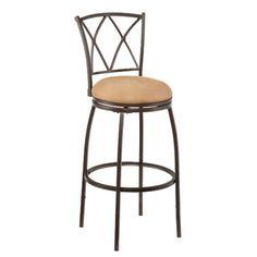 "Wildon Home ® Fairfax 24.5"" Swivel Bar Stool with Cushion"