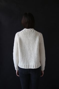 Anaak Mori Pullover Ivory