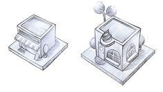Vector City on Illustration Served