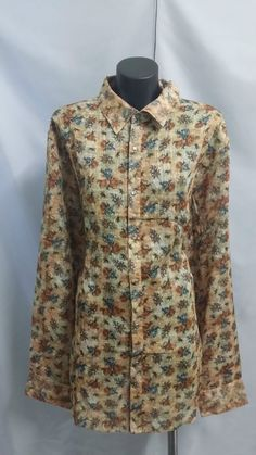 LADIES FLORAL SHIRT SIZE 16 **CHARITY AUCTION**