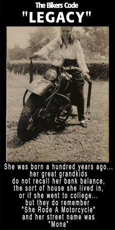 Women Bikers!