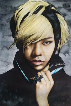 Other artwork which I've done. G-Dragon. It's the person which inspired me alot few years ago.