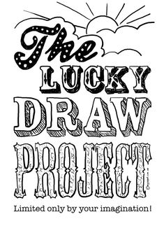 Sign up for this awesome thing! Lucky Draw Project front page
