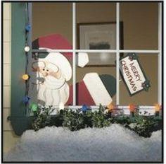 Addobbi natalizi per finestre