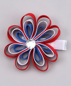 Fourth of July - Hair Clip