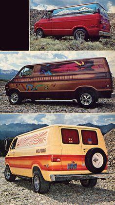 More Random Mopar Vans. Dodge Van, Day Van, Love Machine, Cool Vans, 70s Style, Vintage Vans, Custom Vans, Kustom, Van Life