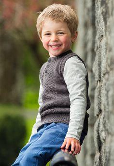 boy's knit vest