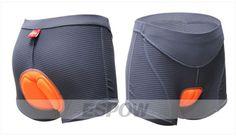 Sweet!! Classy NYXEYE Women's Antimicrobial Cycling Shorts Riding Sponge Padded Underwear/Pants ESPOW