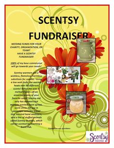 I would love to speak to you about your FUNDRAISER ..please stop by https://kimhatfield.scentsy.us/