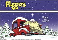 Pluggers Comic Strip, December 25, 2016     on GoComics.com