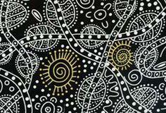 aboriginal quilt fabric