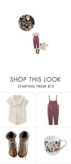 """""""Nothing but a needle and a knife."""" by wishbones ❤ liked on Polyvore featuring Victorinox Swiss Army, Ulster Weavers, Fall, Boots, nature, overalls and farm"""