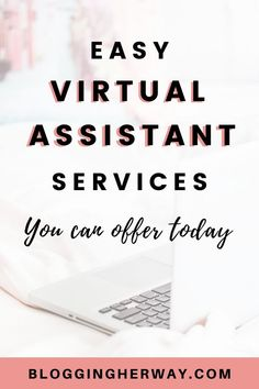 Profitable Virtual Assistant Services You Can Offer Earn Money From Home, Earn Money Online, Online Jobs, Business Tips, Online Business, How To Start A Blog, How To Make Money, Finance Jobs, Virtual Assistant Services