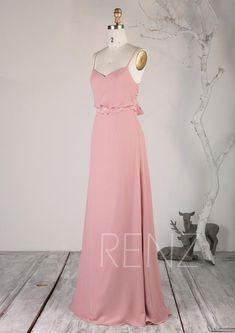 2e476c34e88 Long Formal Maternity Dresses See Through Back Simple Blush ...