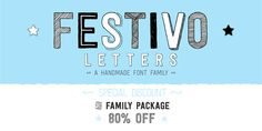 Festivo Letters, a font family by Ahmet Altun. Preview, purchase and instantly download Festivo Letters at Fontspring... the best resource for discovering and licensing fonts.