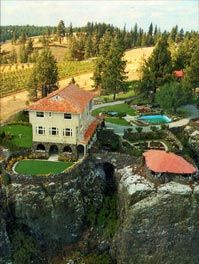 Arbor Crest Winery, Spokane, Wa. One of my favorite wineries ever; summer concert nights are the best!