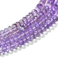 Get the best natural Pink Amethyst gemstone beads from Brazilian Mines. Available in clear faceted beads. A bead measures from 7mm to 8mm. These beads are unbleached,real,untreated & beautiful which allure you.These beads helps you to improve your Sleep Related Problems. It creates an ambience which help you to transmute negative energy to positive energy. It is a healing stone which is widely used by those individual who has a problem Anger and Fear