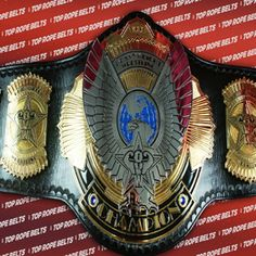 TRB is proud to be the new belt maker for Ohio Valley Wrestling. OVW recently became the developmental territory for TNA Impact wrestling. They did th Awa Wrestling, Wwe Belts, Ohio