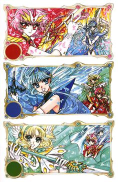 Magic Knight Rayearth/ Manga/ http://www.mangaeden.com/en-manga/magic-knight-rayearth/