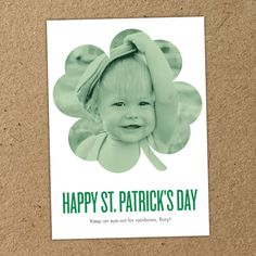 Clover Shape | St. Patrick's Day Collection #InkCards