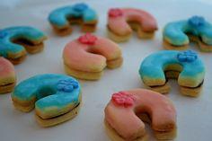farebné podkovičky Cookies, Desserts, Food, Biscuits, Meal, Deserts, Essen, Hoods, Dessert