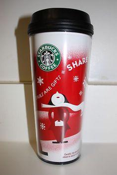 Starbucks 2010 Christmas Tumbler Mug Starbucks Tassen, My Starbucks, Coffee Bottle, Coffee Drinks, Tumblers, Stocking Ideas, Tableware, Gifts, Billionaire