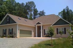 Wheelchair-accessible Housing & Universal Design Homes at Barrier Free Home Dream House Plans, House Floor Plans, Custom Home Builders, Custom Homes, Garage Design, House Design, Design Homes, Garage Addition, Home Photo
