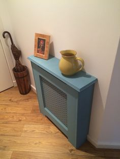 Coloured radiator cover Radiator Cover, Radiators, Hallway Ideas, Canning, Cool Stuff, Dom, House, Radiant Heaters, Home