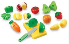 Pretend and Play Sliceable Fruits and Veggies By Learning Resources ** Visit the image link more details.
