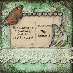 Happiness Is a Journey By Stanka Vukelić - LadyArtTalk  #art