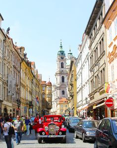 Prague street. Been there, done that!