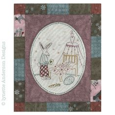 - Comforts of Home - Month 2 Linnet, Needlework, Vintage World Maps, Patches, Diy Crafts, Embroidery, How To Make, Fun, Design