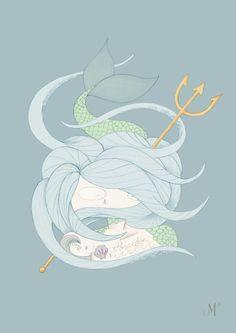 Poseidón. serie Olimpo
