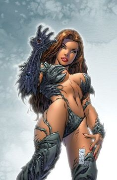 All witchblade girls naked