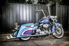 For Ruben Salazar his 2001 Harley-Davidson Road King is more than just a motorcycle, it's full blown obsessions.