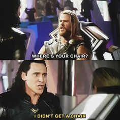 What chair?