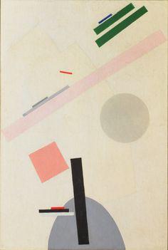 Kazimir Malevich, Suprematist Painting. 1916-17 •