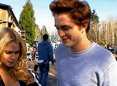 Edward And Rosalie Goofing Around On St. Vampire Twilight, Twilight 2008, Twilight Movie, Twilight Saga, The Cullen, Edward Cullen, Rosalie Hale, Twilight Photos, New Moon