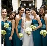 Beautiful Blue Bridesmaid Dresses Blue has long been associated with weddings, because it stands for fidelity. Blue also happens to be. Peacock Wedding, Green Wedding, Wedding Colors, Wedding Ideas, Wedding Stuff, Wedding Themes, Wedding Decor, Wedding Inspiration, Teal Bridesmaid Dresses