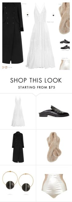 """""""Orchestral"""" by amberelb ❤ liked on Polyvore featuring мода, Roberto Cavalli, Robert Clergerie, Tom Ford, Luella, Marni, Caroline CHHU и Ray-Ban"""