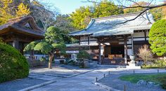 Hokuku-ji Temple - Rinzai Sect of Zen Buddhism. Founded in the early  years of the Muromachi Period; was Ashikaga Clan family temple, later adopted as Uesugi Clan family temple.