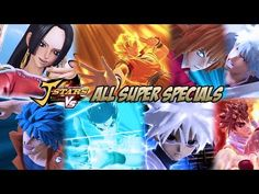 J-STARS Victory Vs - All Super Specials/Ultimate Attacks - YouTube
