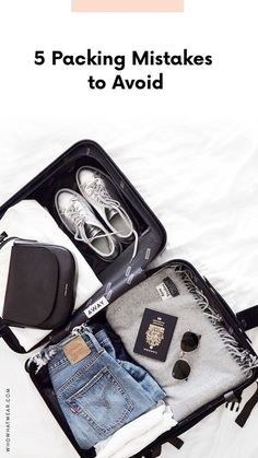 The worst packing mistakes to avoid when traveling.