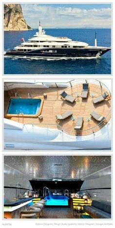 """Luxury Yatchs Mega Interior Lifestyle Design Most Expensive Boat 👉 Get Your FREE Guide """"The Best Ways To Make Money Online"""" Yachting Club, Expensive Yachts, Yacht Interior, Interior Design, Private Yacht, Cool Boats, Yacht Boat, Yacht Design, Speed Boats"""