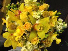 Teddy's bridal bouquet by Carol Lynn Events