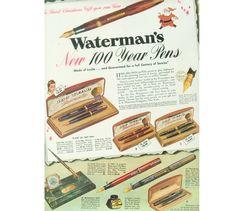 Waterman Hundred Year Pen Standard Red, ca. 1940 | Penarte - Fine Vintage Pens