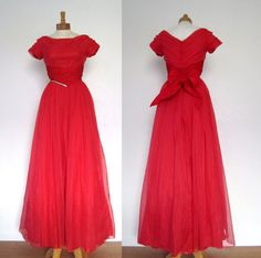 Vintage Evening Gown // Emma Domb // California // by MKRetro, $215.00